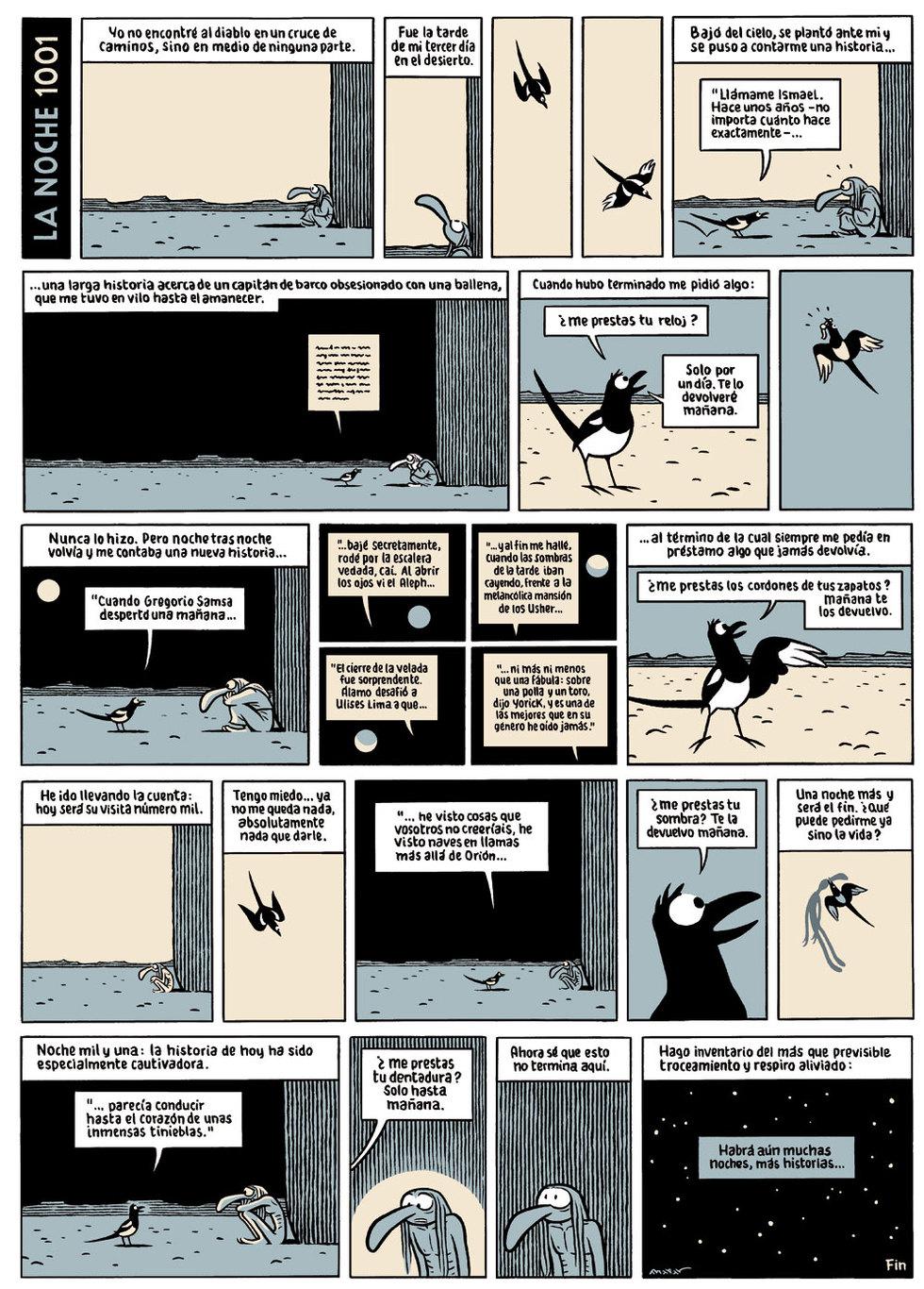 El cómic de Max homenaje a \'Las mil y una noches\' | Cultura | EL PAÍS