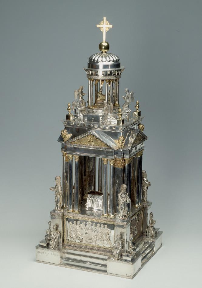 Tabernáculo de plata, Rusia, San Petersburgo, 1827.-