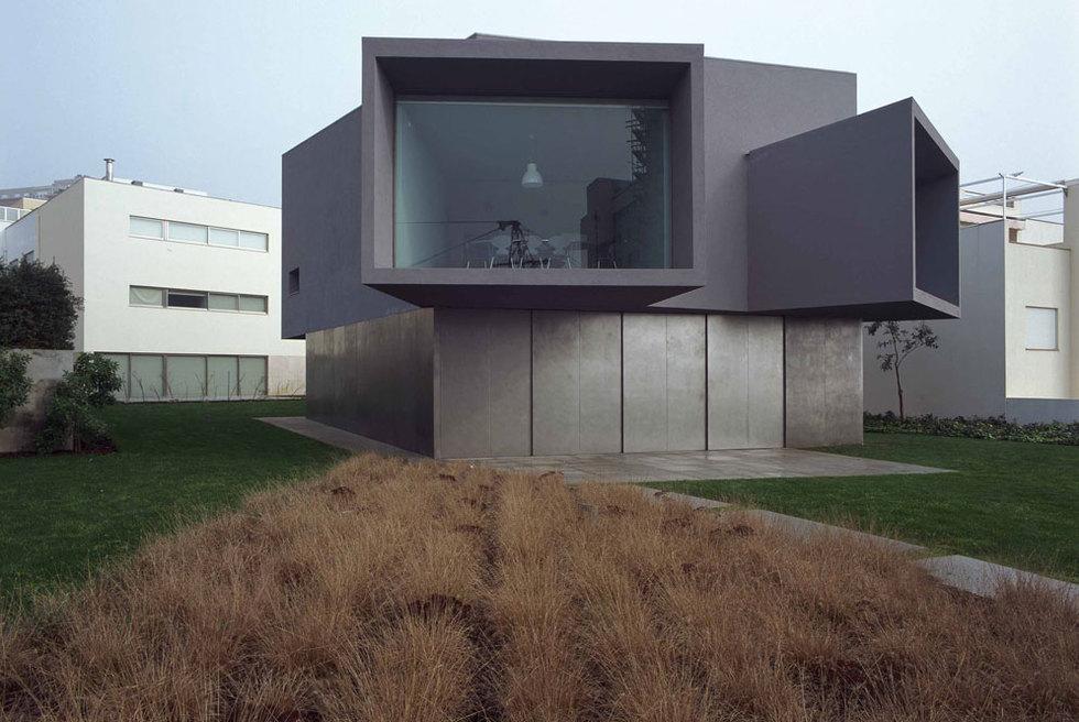 La Casa do Cinema, obra para el director de cine Manoel de Oliveira por el arquitecto Souto de Moura.