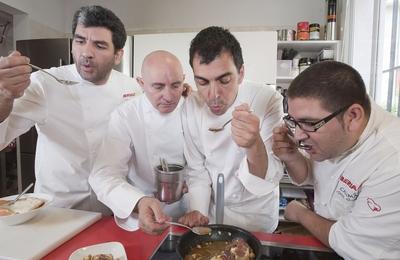 Los pilotos de la cocina de Iberia