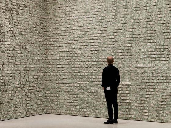 Instalación en el Guggenheim de Nueva York