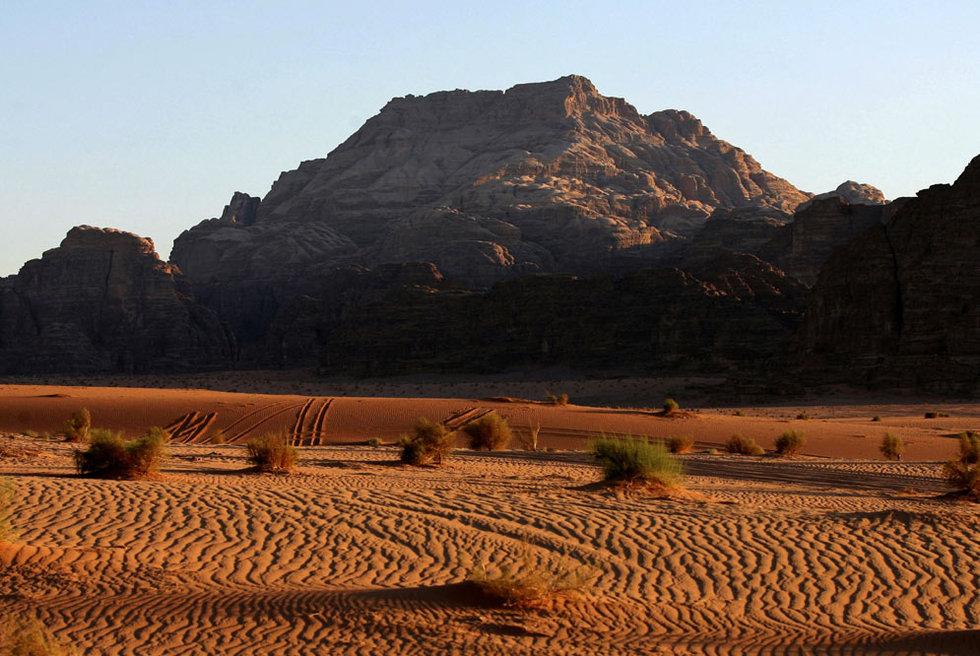Zona Protegida del Uadi Rum (Jordania)