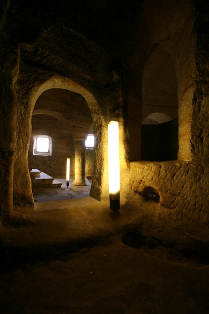Luminarias en Olleros