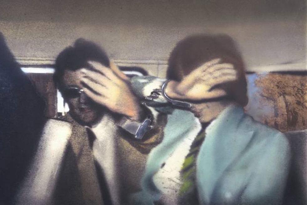 Swingeing London 67'. (1968-1969). El 'collage' que retrata la detención del cantante Mick Jagger en 1968. GALERÍA TATE