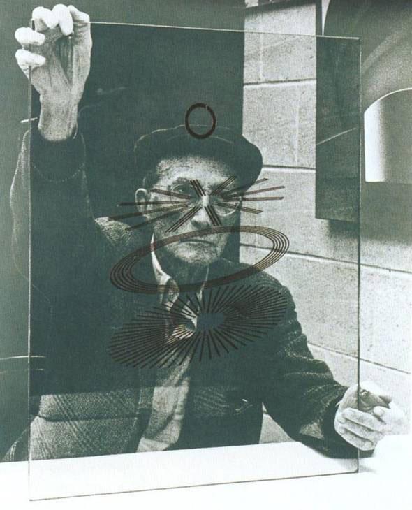 'Marcel Duchamp'. (1967). GALERÍA TATE. Cuadro dedicado a su admirado artista francés Marcel Duchamp, cuya obra tuvo una fuerte influencia en la evolución del movimiento pop en el siglo XX.