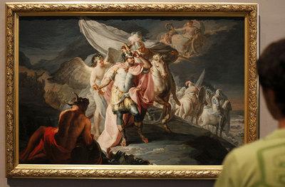 El cuadro de Francisco de Goya Aníbal vencedor que por primera vez mira Italia desde los Alpes.- SAMUEL SÁNCHEZ