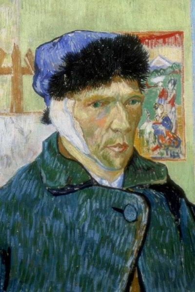 'Autorretrato' de Van Gogh