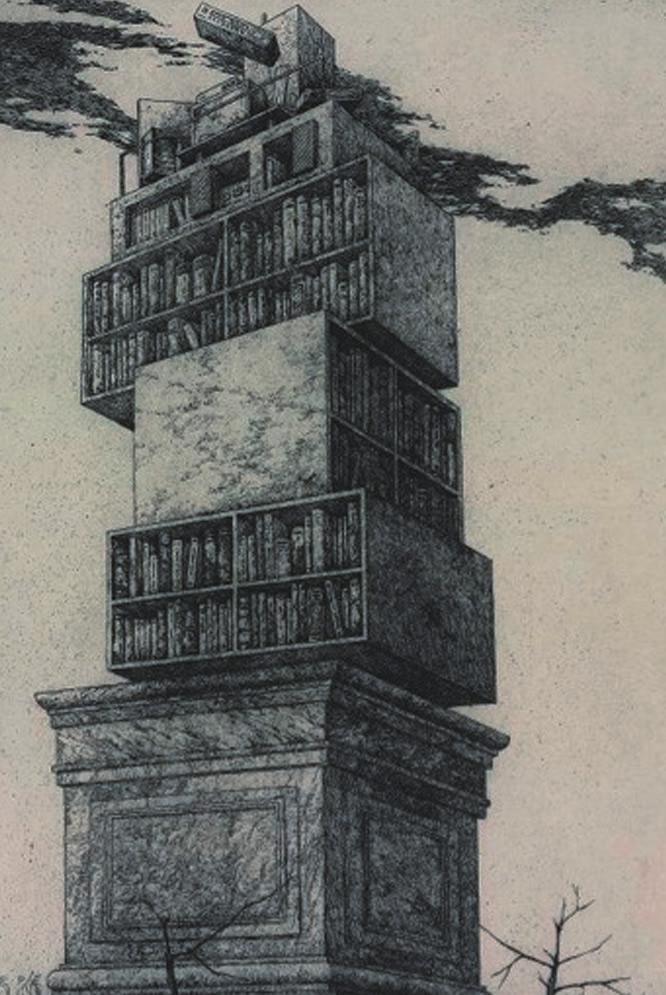 Tesoros de tres siglos de historia  - El grabado va con un poema