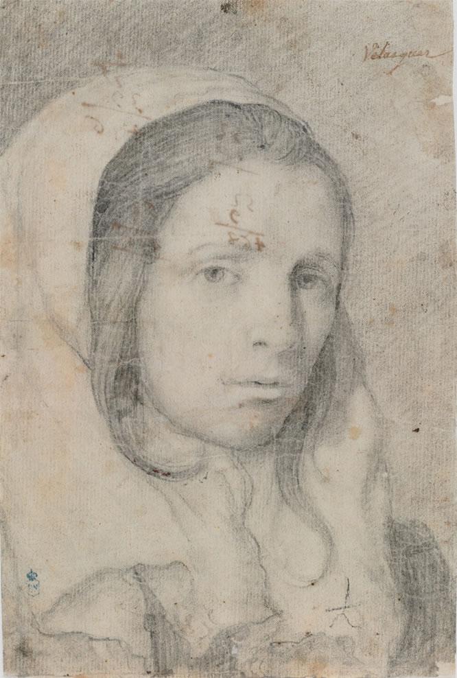 Cabeza de muchacha. Diego Velázquez
