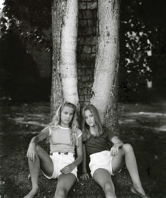 Обнаженные Подростки Ретро Фото