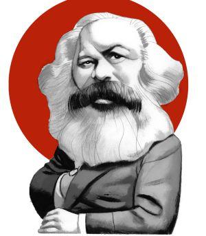 Resultado de imagen de la sombra de Marx