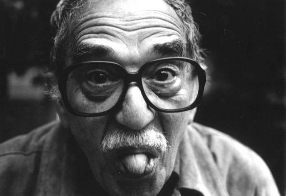 Garcia Marquez Joven García Márquez en su Casa de