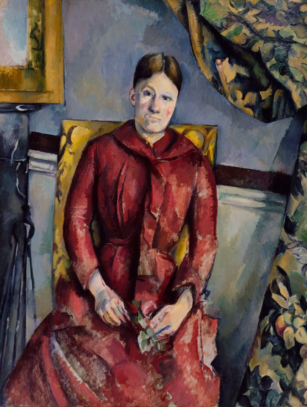 'Madame Cézanne, con un vestido rojo' (1888-90), de Cézanne. / THE METROPOLITAN MUSEUM OF ART