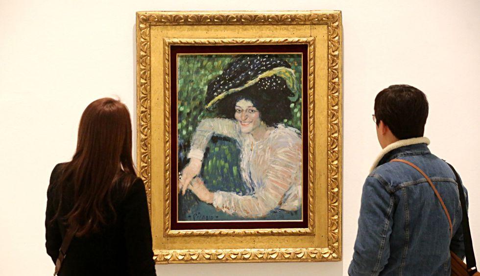 'Buste de femme souriante' (Busto de mujer sonriente) de Pablo Picasso. / BERNARDO PÉREZ