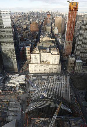 El pájaro de Calatrava para la Zona Cero se resiste a ... - photo#50