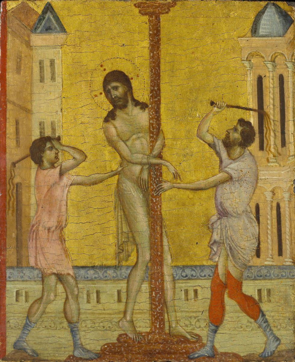 'La flagelación de Cristo', de Cimabue. / MICHAEL BODYCOMB