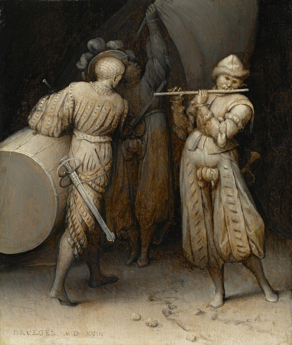 'Los tres soldados', de Pieter Brueghel el Viejo. / MICHAEL BODYCOMB