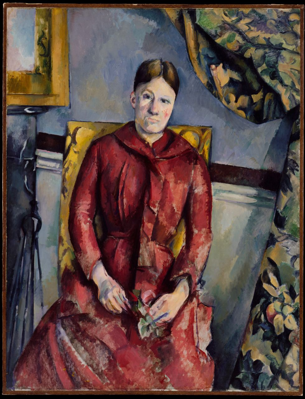 Retrato de Hortense Fiquet (Madame Cézanne), en 1888. / THE METROPOLITAN MUSEUM OF ART