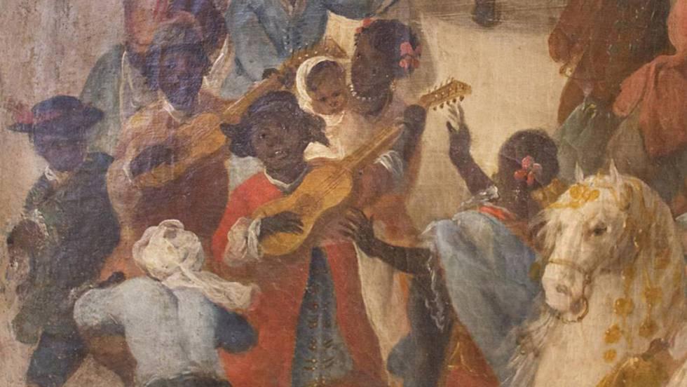 fiesta blanco esclavitud