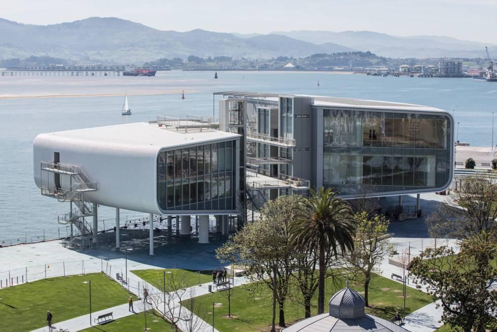 El Centro Botín, de Renzo Piano, se inaugurará el 23 de junio en Santander