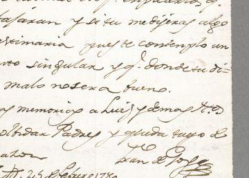 Firmado: Francisco de Goya