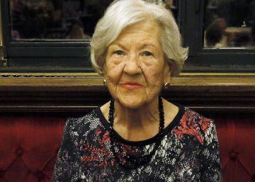 Muere Leonor Machado, presidenta de la fundación Antonio Machado, a los 92 años