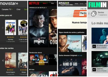 Netflix, HBO, Amazon, Rakuten, Filmin o Movistar+: ¿cuál es mejor?