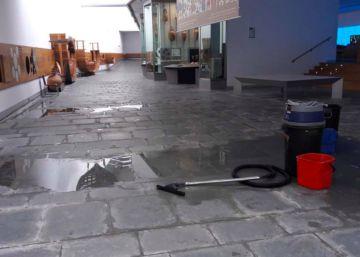 El agua daña el Museo Nacional de Arqueología Subacuática