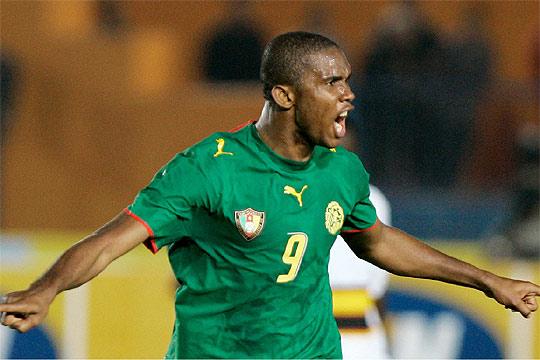 Samuel Eto'o from Cameroon