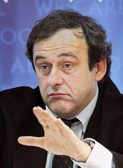 UEFA - Platini se reune con los directivos de las casas de apuestas. Fútbol