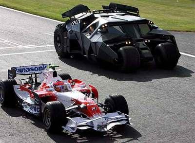 La Fórmula Uno y Batman se unen en Silverstone