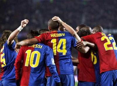Jugadores Del Barcelona