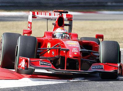 GRAN PREMIO DE MONZA Giancarlo_Fisichella_estrena_Ferrari_GP_Monza