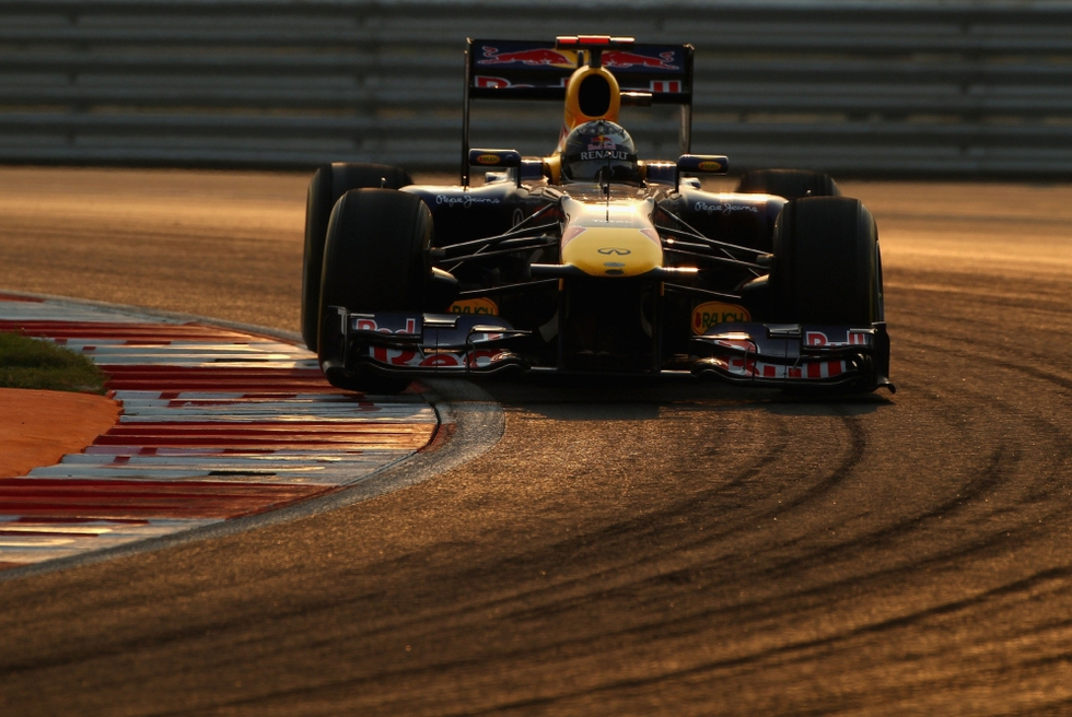 El primer GP de India en imágenes  - Vettel sigue con su dominio