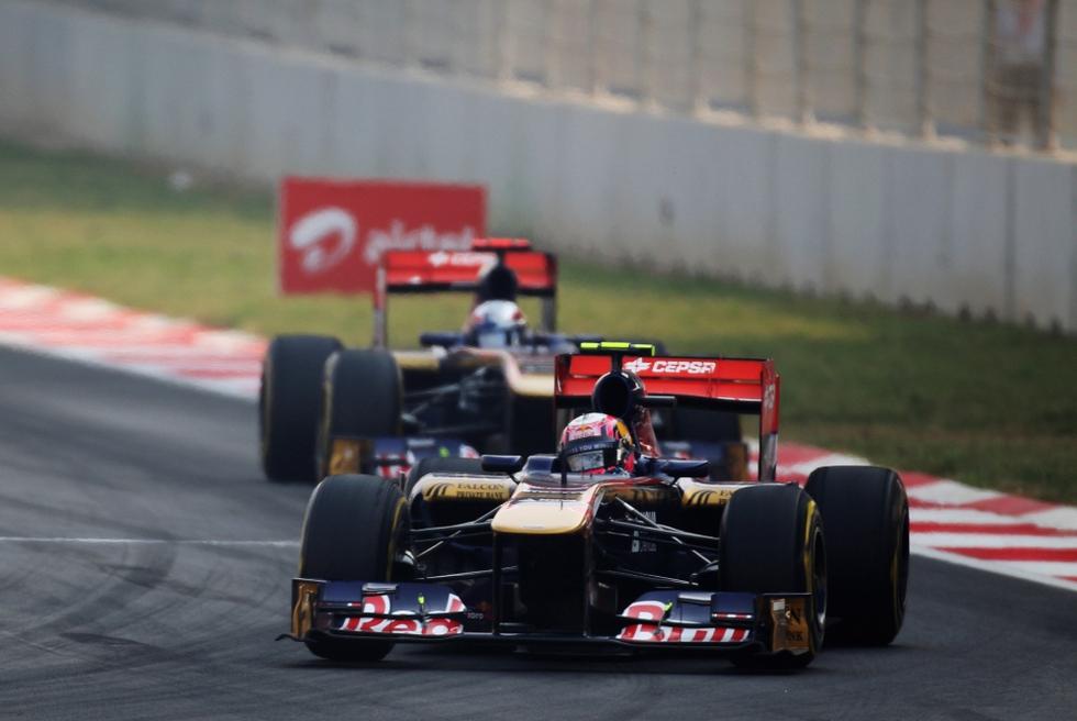 El primer GP de India en imágenes  - Alguersuari firma un gran día