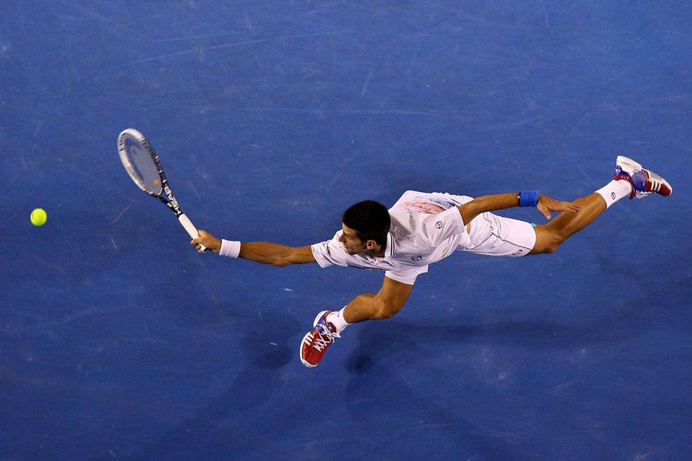 Djokovic llega a todo