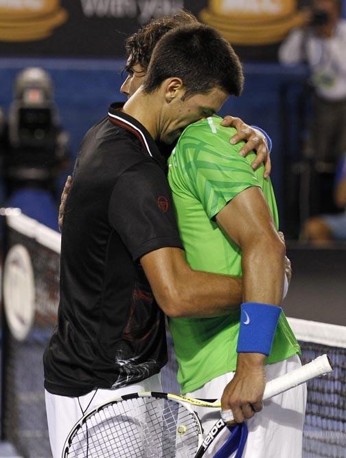 El abrazo final