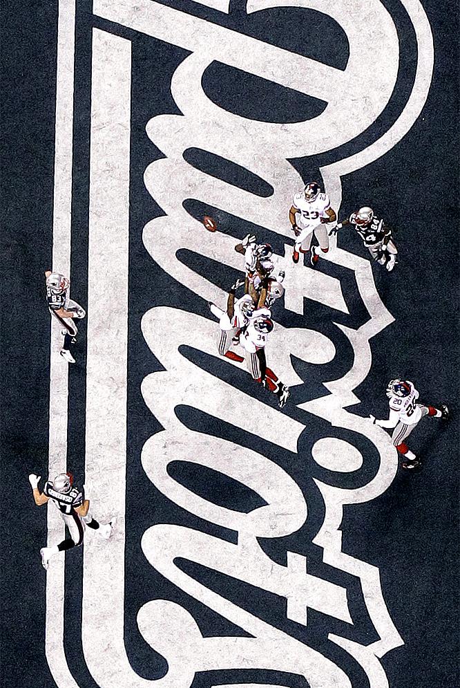 Los Giants de Nueva York ganaron a los Patriots de Boston (21-17)