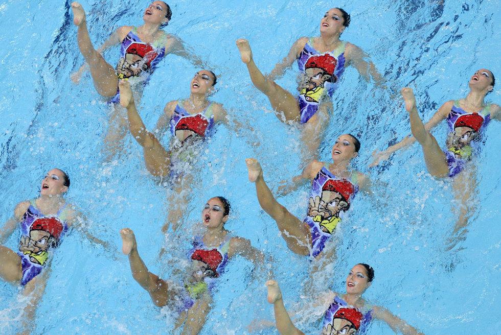 Equipo subcampeón en Pekín