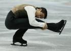 Un patinador sin patines