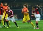 El Milan pone al Barça contra las cuerdas