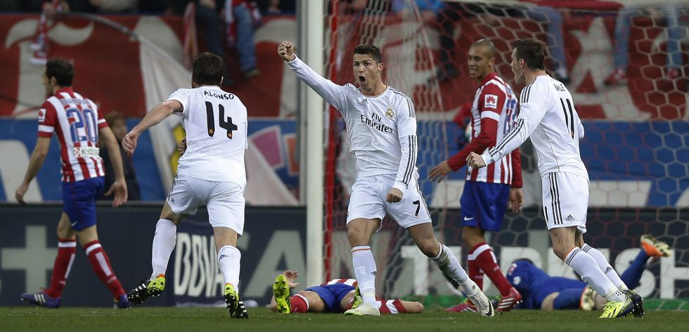 1393775861 410770 1393782808 album normal The best pictures from the red hot Madrid derby   Atletico 2   Real 2