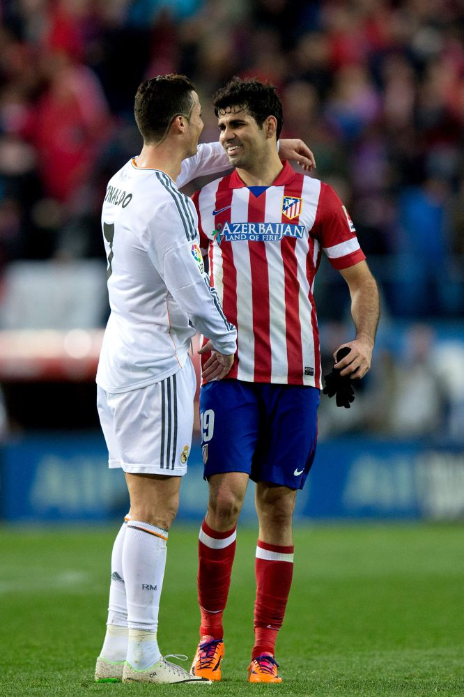 The best pictures from the red hot Madrid derby   Atletico 2   Real 2