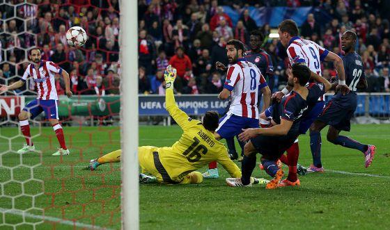 El Atlético, a octavos por la derecha