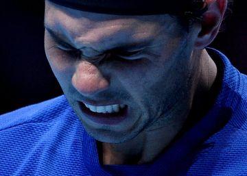 El dolor derrota a Nadal y le aparta del Masters