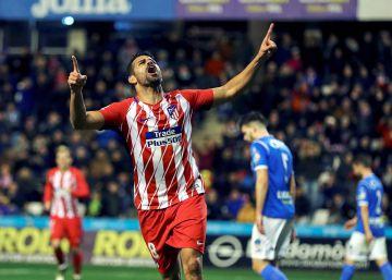 El Atlético golea al Lleida con un genuino regreso de Diego Costa