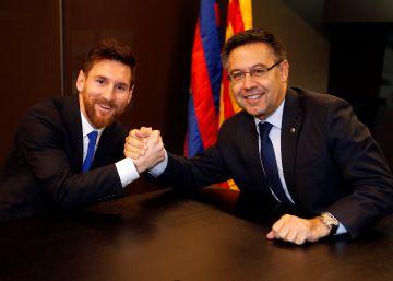 Messi pactó con el Barça una cláusula en caso de independencia
