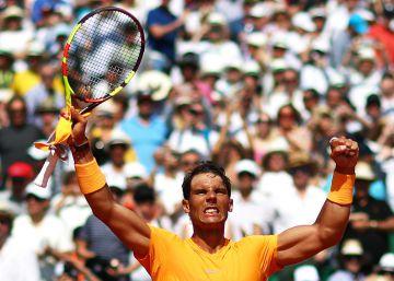 Nadal desmonta a Dimitrov y apunta a otro título en Montecarlo