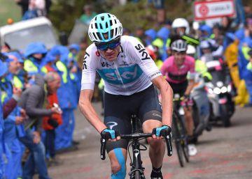 Froome gana la 19ª etapa del Giro y se hace con la maglia rosa