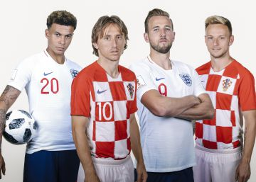 Croacia - Inglaterra en directo, la semifinal en vivo